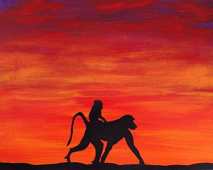 Mother Africa 4 by Michael Cross