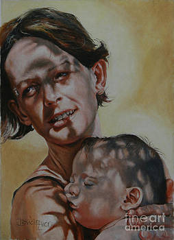 Mother and Child by David McEwen