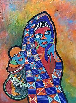 Mother and Child by Lanre Buraimoh