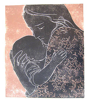 Mother and Child by Lila Oliver Asher