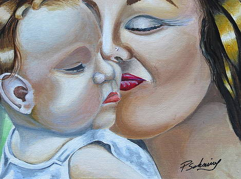 Mother and Child by Paul Schoenig