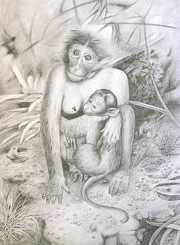 Mother and Child by Shihy Antony