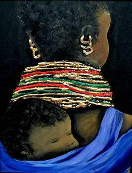 Mother and Child2 by Marietjie Henning