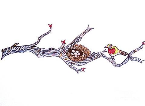 Mother Birdie by Priyanka Rastogi