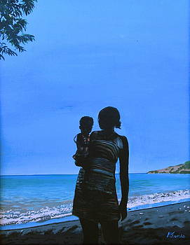 Mother Daughter by Kelvin James