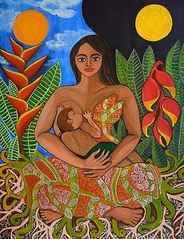 Mother Earth - Nourish  by Jennifer Mourin