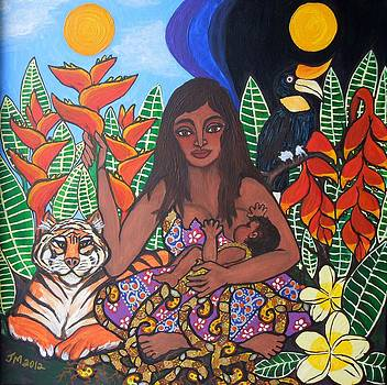 Mother Earth Sustains by Jennifer Mourin