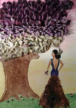 Mother Nature Purple Dawn by Edwina Sage Washington