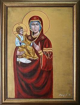 Mother of God by Marija Ristovic