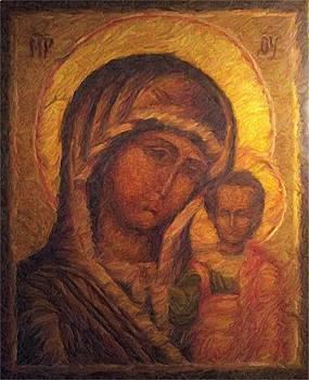 mother of God by Yuri Zajigai
