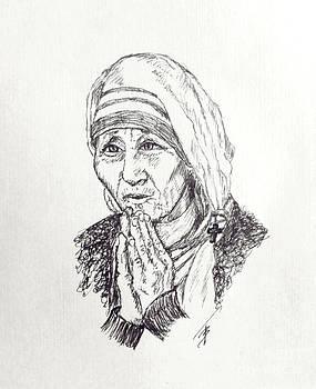 Art By - Ti   Tolpo Bader - Mother Teresa