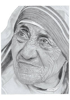 Mother Teresa by Chris Greenwood