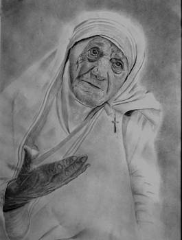 Mother Theresa 2 by Derrick Parsons