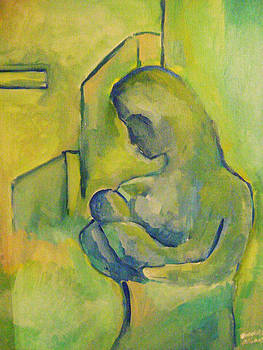 Mother with child by Sidney Holmes