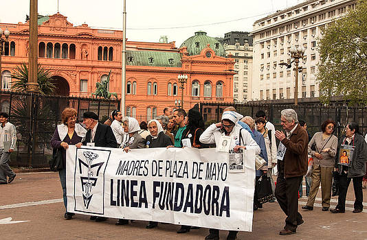 Errol Wilson - Mothers of the Disappeared Plaza de Mayo Argentina