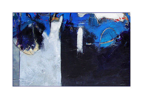 Motherwell Meets Blue Black Basta by Dale  Witherow