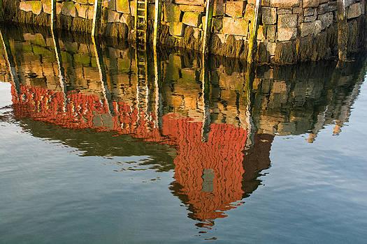 Motif no. 1 Reflection by Nancy De Flon