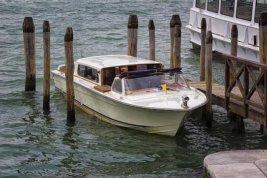 Motorboat in Venice by Francesco Rizzato