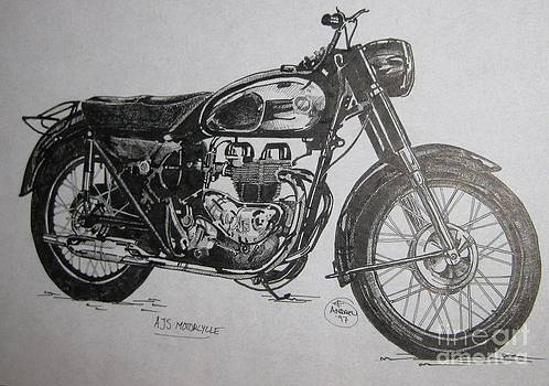 Motorcycle by Andrew Wilkie