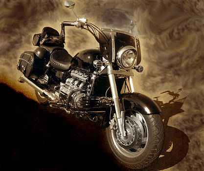 Nina Fosdick - Motorcycle