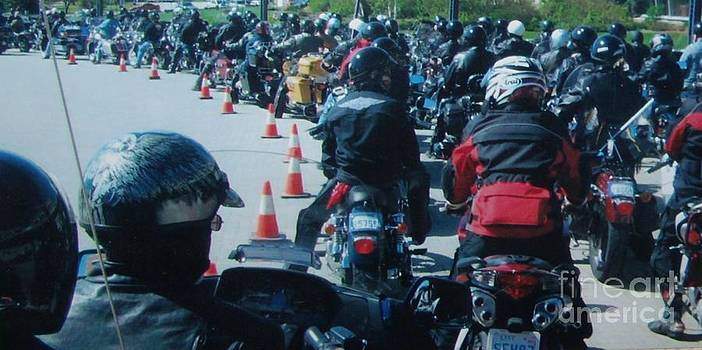 Gail Matthews - MOTORCYCLE RIDE FOR DAD FOR PROSTATE CANCER