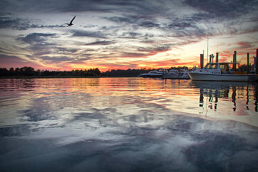 Mott's Channel Sunset by Phil Mancuso