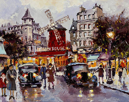 Moulin Rouge by Andre Tutak