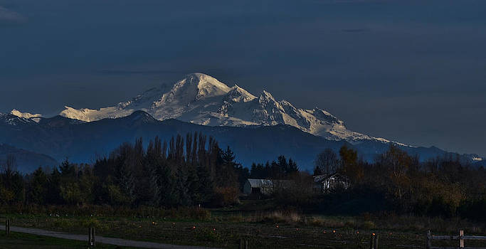 Mount Baker Blue Gloom by Blanca Braun