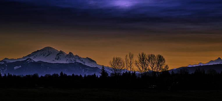 Mount Baker Morning Glory by Blanca Braun
