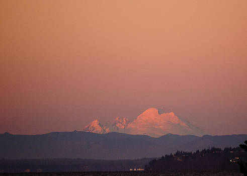 Ronda Broatch - Mount Baker This Evening