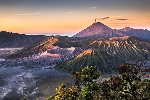 Mount Bromo Sunrise by Andreas Wonisch