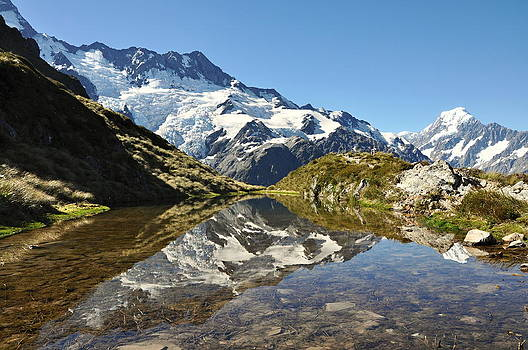 Mount cook panorama by Tomas Mahring