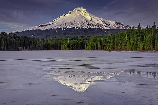 Rick Berk - Mount Hood Reflections