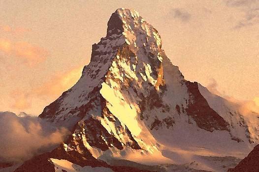Mount Matterhorn At Sunset by Irina Sumanenkova