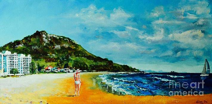 Mount Maunganui by ElsaDe Paintings