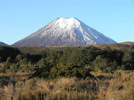 Mount Ngauruhoe by Olaf Christian