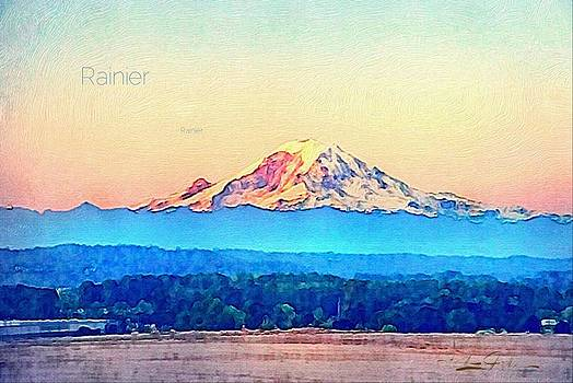 Mount Rainer by Frank Jackson