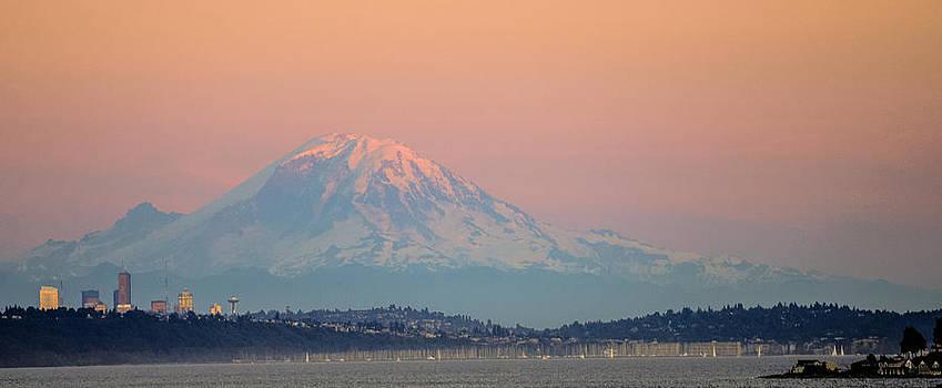 Ronda Broatch - Mount Rainier Sunset I I I