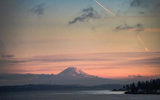 Ronda Broatch - Mount Rainier Sunset II