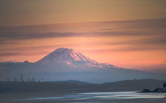 Ronda Broatch - Mount Rainier Sunset III