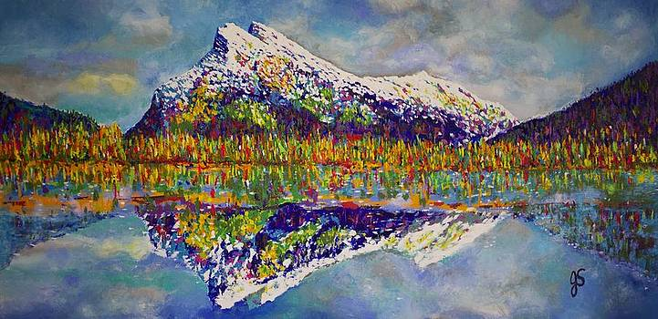 Mount Rundle by Joyce Sherwin