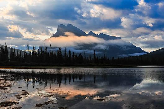 Mount Rundle by Ken Wilson