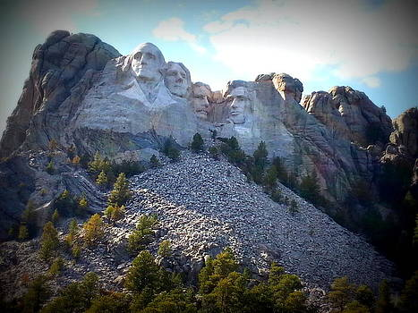 Mount Rushmore by Carrie Putz
