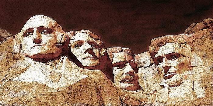 Art America Gallery Peter Potter - Mount Rushmore National Monument