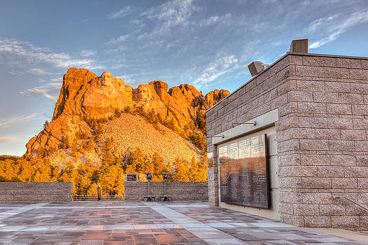 Joshua McDonough - Mount Rushmore Sunrise