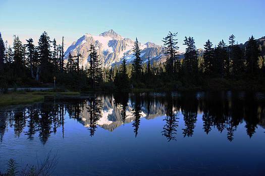 Mount Shuksan by Gerry Bates