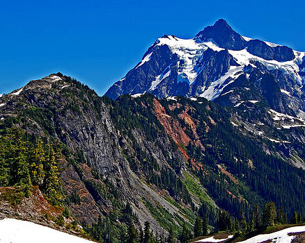 Mount Shuksan Washington by Randall Templeton
