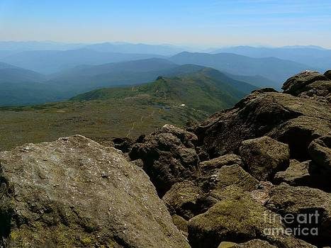 Christine Stack - Mount Washington Summit View