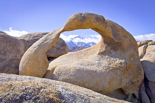 Priya Ghose - Mount Whitney Framed By The Mobius Arch