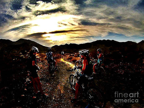 Mountain Biking Ladies by Scott Allison